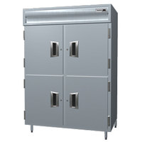 Delfield SMH2-SH 51.92 Cu. Ft. Solid Half Door Two Section Reach In Heated Holding Cabinet - Specification Line