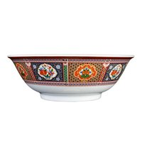 Thunder Group 5075TP Peacock 1.6 Qt. Round Melamine Rimless Bowl - 12/Case