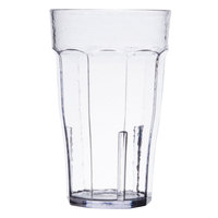 Cambro LT12152 Laguna 12 oz. Clear Customizable Plastic Tumbler - 36/Case