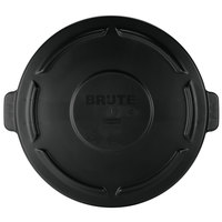 Rubbermaid FG264560BLA BRUTE 44 Gallon Black Trash Can Lid
