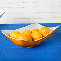 GET ML-219-ST Keywest 1.9 Qt. Sunset Flare Melamine Bowl - 3/Case