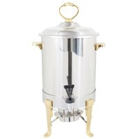 Vollrath 46029 3 Gallon Classic Brass Trim Coffee Urn