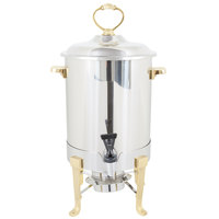 Vollrath 46029 3 Gallon Classic Brass Trim Coffee Urn