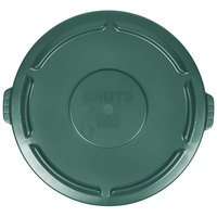 Rubbermaid FG265400DGRN BRUTE Green 55 Gallon Trash Can Lid