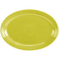 Homer Laughlin 456332 Fiesta Lemongrass 9 5/8 inch Small Oval Platter   - 12/Case