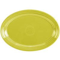 Homer Laughlin 456332 Fiesta Lemongrass 9 5/8 inch Small Oval Platter   - 12/Case