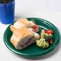 Creative Converting 28312421 9 inch Hunter Green Plastic Plate - 20/Pack