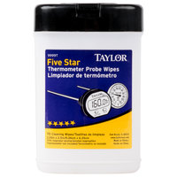 Taylor 9999T Anti-Bacterial Thermometer Probe Wipes   - 70/Pack