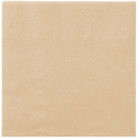Hoffmaster 180343 Beige Beverage / Cocktail Napkin - 1000/Case