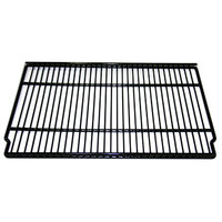 True 909098 Black Coated Wire Shelf - 20 7/8 inch x 14 3/4 inch