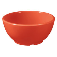 GET B-45-RO Diamond Mardi Gras 10 oz. Rio Orange Melamine Bowl - 24/Case