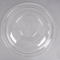 Fineline 5320-L Super Bowl Clear PET Plastic Dome Lid for 320 oz. Bowls - 25/Case