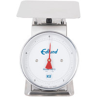 Edlund HD-5 Heavy-Duty 5 lb. Portion Scale with 8 1/2 inch x 8 1/2 inch Platform