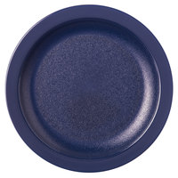 Carlisle PCD20650 Blue 6 1/2 inch Polycarbonate Narrow Rim Plate   - 48/Case