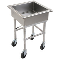 Eagle Group MSS2020 Mobile Soak Sink 23 inch x 23 inch x 33 inch