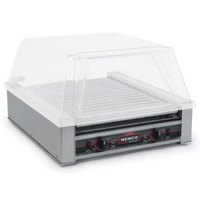 Nemco 8045W-220 Wide Hot Dog Roller Grill - 45 Hot Dog Capacity (220V)