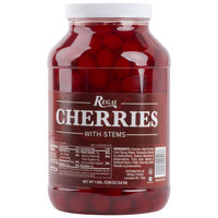Regal Maraschino Cherries with Stems 1 Gallon Jar   - 4/Case