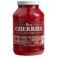 Regal Maraschino Cherries with Stems 1 Gallon Jar - 4/Case