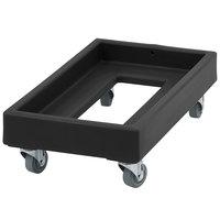 Cambro CD1327110 300 lb. Black Camdolly Milk Crate Dolly