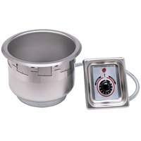 APW Wyott SM-50-11 UL HP High Performance / Fast Recovery Drop In 11 qt. Soup Well with EZ Lock - 120V