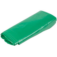 55 Gallon Eco-Friendly 1.25 Mil 38 inch x 58 inch Low Density Trash Can Liner / Bag   - 100/Case