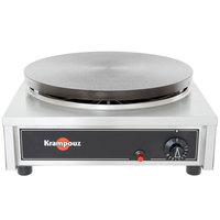 Krampouz CGCID4 17 inch x 18 inch Gas Cast Iron Crepe Maker - 24,000 BTU