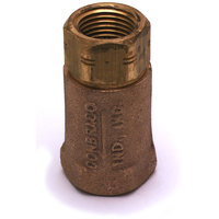 T&S B-CVH1-2 Horizontal Check Valve with 1/2 inch NPT Female Connections