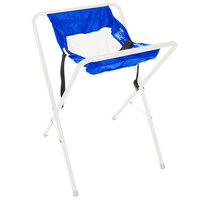 Koala Kare KB115-99 White and Blue Assembled Infant Seat Kradle