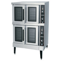 Hobart HEC502 Double Deck Full Size Electric Convection Oven - 208V, 1 Phase, 12.5 kW
