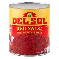 Del Sol Red Mexican Salsa (6) #10 Cans / Case