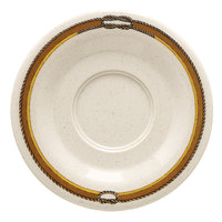 GET SU-2-RD 5 1/2 inch Diamond Rodeo Saucer for C-108, TM-1208, and TM-1308 - 48/Case