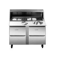 Traulsen UPT6024-DD 60 inch 4 Drawer Refrigerated Sandwich Prep Table