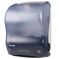 San Jamar T7000TBL Simplicity Hands Free Roll Towel Dispenser - Arctic Blue