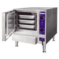 Cleveland 22CGT3.1 SteamChef 3 SST Liquid Propane 3 Pan Countertop Steamer - 32,000 BTU