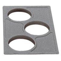 Cambro CPH3 Granite Gray Crock Holder for Cambro Food Bars - 12 7/8 inch x 20 7/8 inch