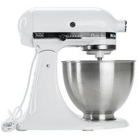 KitchenAid KSM75WH White 4.5 Qt. Countertop Mixer