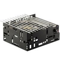 Cal-Mil 1617-13 Black Steel Squared 13 inch x 11 inch Butane Stove Frame