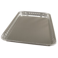 Durable Packaging 7000-45 16 inch x 11 5/8 inch Foil Cake Pan - 100/Case