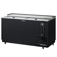 Turbo Air TBC-65SB Black 65 inch Bottle Cooler