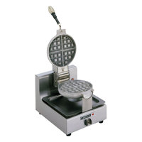 Wells BWB1S Belgian Waffle Maker with 7 inch Grids - 120V, 900W