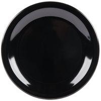 Carlisle KL20403 Kingline 6 1/2 inch Black Pie Plate - 48/Case