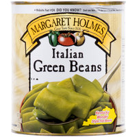 #10 Can Italian Style Cut Green Beans - 6/Case