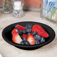 Tuxton CBD-052 Concentrix 4.5 oz. Black China Fruit / Monkey Dish   - 24/Case