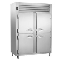 Traulsen RHT232DUT-HHS Stainless Steel 42 Cu. Ft. Half Door Two Section Narrow Reach In Refrigerator - Specification Line