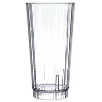 Carlisle 4364007 Lafayette 22 oz. Clear Plastic Tumbler - 36/Case