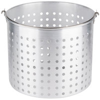 32 Qt. Aluminum Stock Pot Steamer Basket