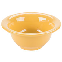 GET B-105-TY Diamond Mardi Gras 10 oz. Tropical Yellow Melamine Bowl - 48/Case