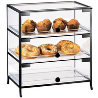 Cal-Mil 1735-1318 Iron Three Tier Display Case - 19 inch x 15 inch x 21 1/4 inch