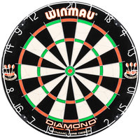 Winmau WIN400 Diamond 18 inch x 1 1/2 inch Bristle Dartboard
