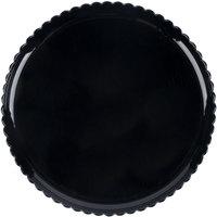 GET HI-2010-BK Mediterranean 13 inch Black Polycarbonate Plate - 6/Case